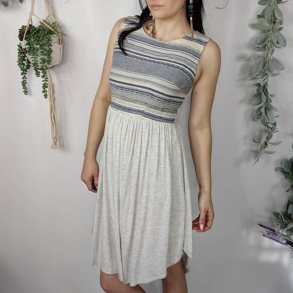 9c386da9b0cfa Anthropologie Dresses & Skirts - DOLAN LEFT COAST Sabado dress grey knit  0008